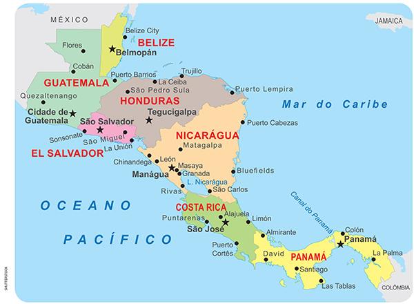 Universia ENEM - América Central - Texto: América Central