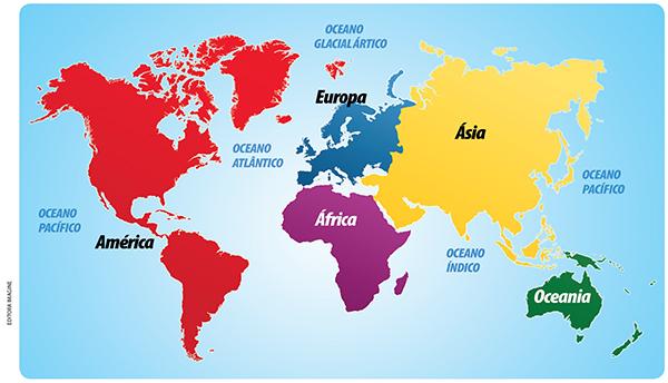 Universia ENEM  Continentes e Oceanos  Texto Continentes e Oceanos