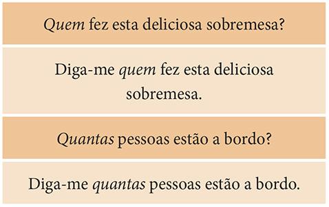 Exemplos de pronomes